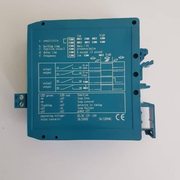 Single Channel Loop Detector